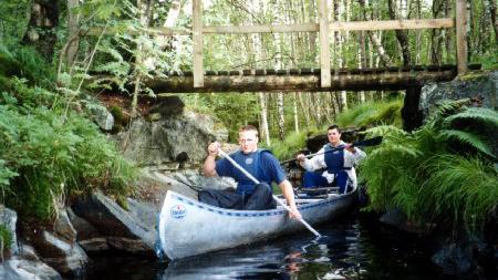 Vättlefjäll kanotpool