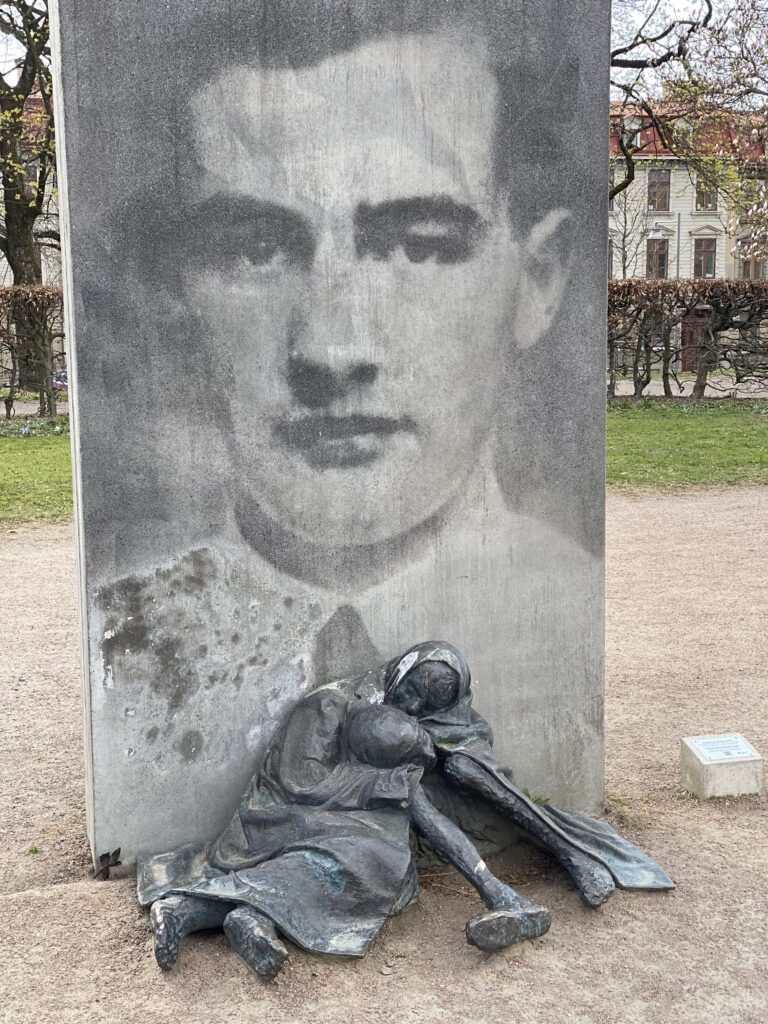 Minnesmärke-Raoul Wallenberg