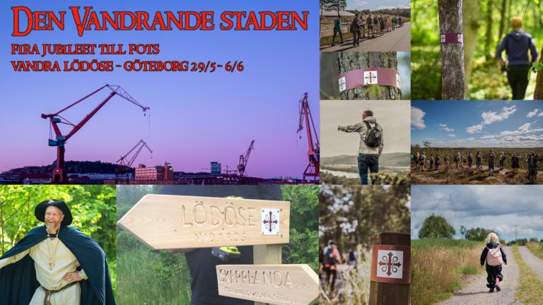 Den Vandrande Staden – Fira Göteborg 400 med en veckas vandring – Följ med!